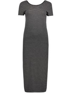 onlAbbie Stripe Calf Dress 15112079 black/lgm