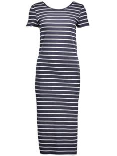 onlAbbie Stripe Calf Dress 15112079 night sky