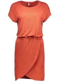 onlthelma s/s dress 15117583 only jurk ketchup