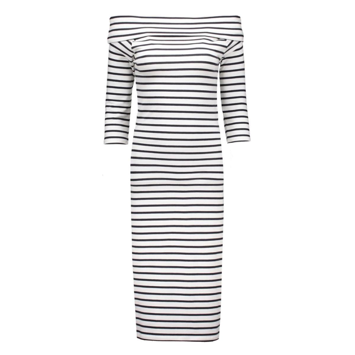 jdystripy 3/4 dress 15125967 jacqueline de yong jurk