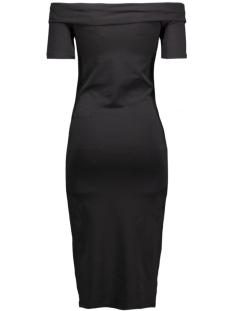onllive love off shoulder calf dress 15126569 only jurk black