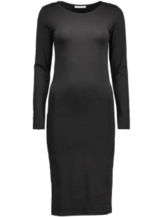 PcMaith Ls Midi Dress 17076569 black