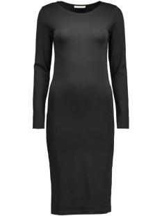 Pieces Jurken PcMaith Ls Midi Dress 17076569 black