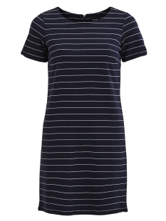 Vila Jurk viTinny New s/s Dress 14032604 total eclipse/Snow White