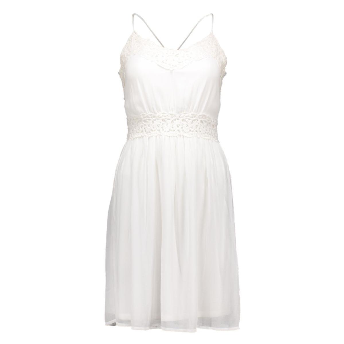 vicalas dress 14032858 vila jurk snow white