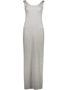 Vila Jurk ViHonesty New Maxi Dress 14033519-2 Snow White/Black