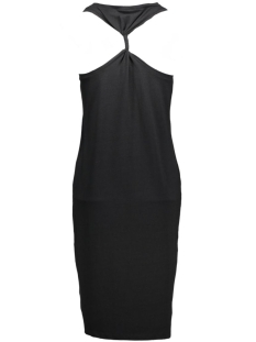 vihonesty 7/8 dress 14035728 vila jurk black