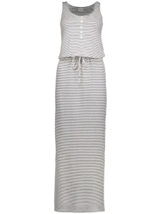 Object Jurk objStephanie Maxi Dress 23021524 1 egret/stripes