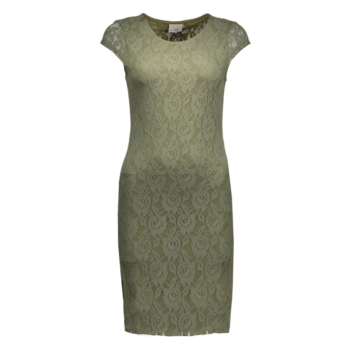 vmlilly lace short dress color 10155971 vero moda jurk ivy green