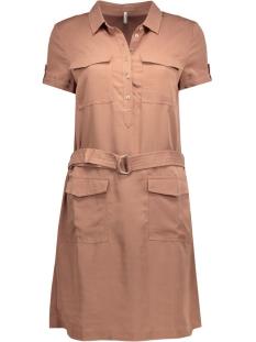 onlalexis s/s dress wvn 15118680 only jurk cognac