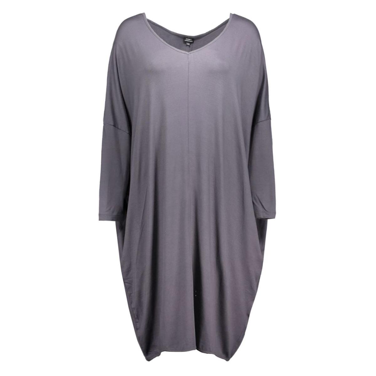 cy1018 comfy copenhagen jurk grijs