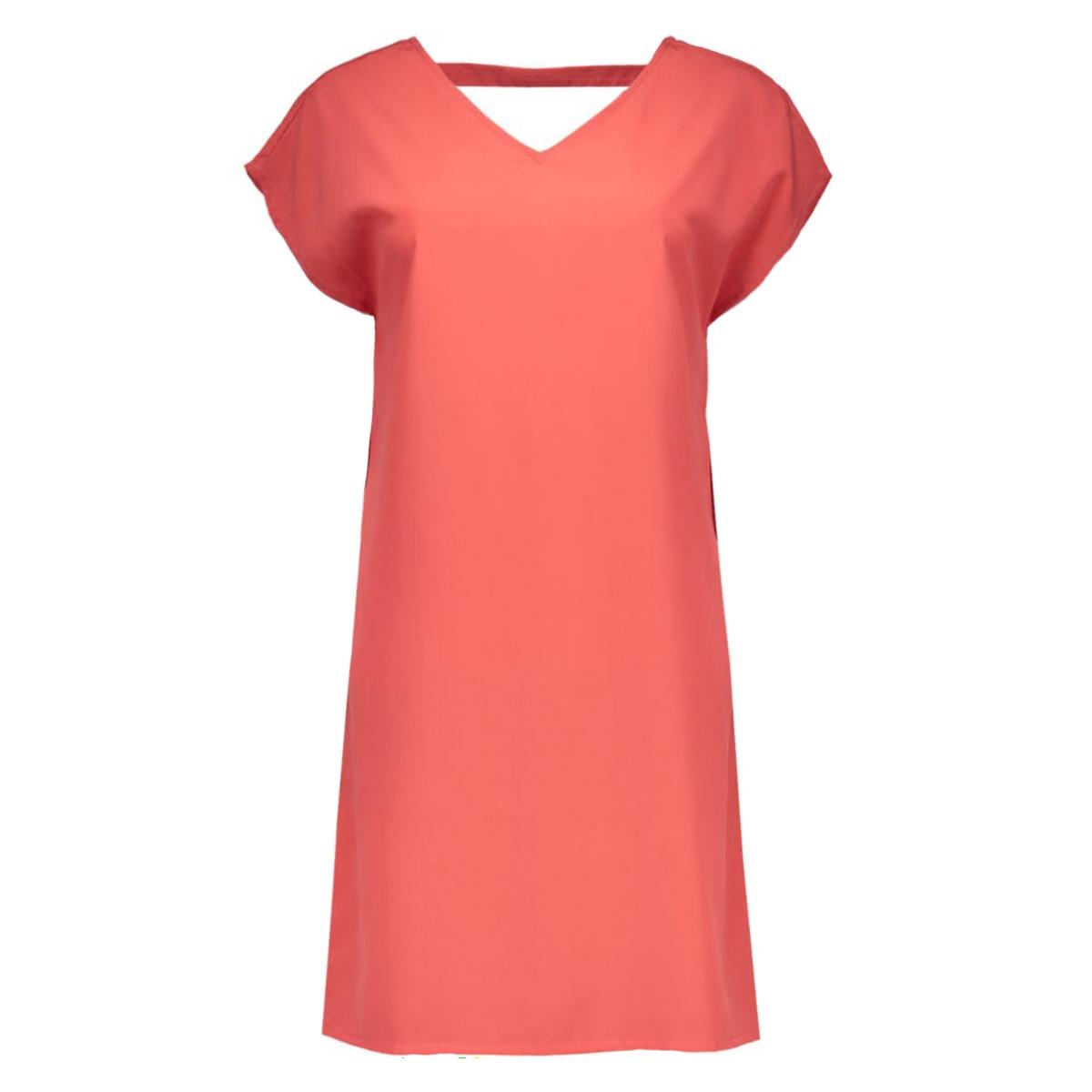 vmlilly s/s string short dress nfs 10167524 vero moda jurk rose of sharon