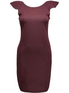 viclemment dress 14036352 vila jurk tawny port