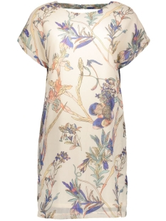 vmkarla s/s short dress e10 10168555 vero moda jurk pink tint/comb