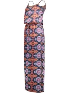 vmmalu rami sl ankle dress wp6 10156086 vero moda jurk adobe/malu adobe