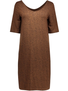 objnorly 2/4 dress 86 div 23022951 object jurk cognac