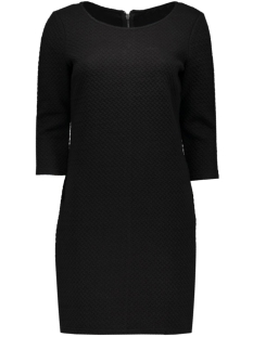 vinaja 3/4 sleeve dress-noos 14036251 vila jurk black