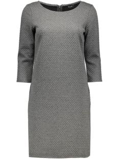 Vila Jurk VINAJA 3/4 SLEEVE DRESS-NOOS 14036251 Medium Grey Melange
