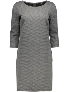 vinaja 3/4 sleeve dress-noos 14036251 vila jurk medium grey melange
