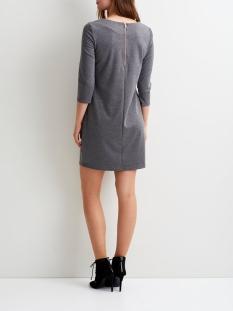 vitinny new dress-noos 14033863 vila jurk medium grey melange