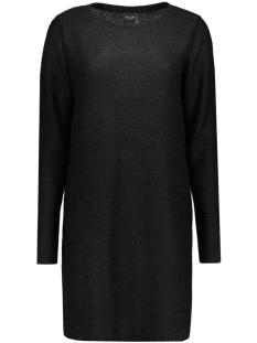 viriva rib dress-noos 14036027 vila jurk black
