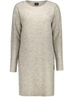 VIRIVA RIB DRESS-NOOS 14036027 Light Grey Melange