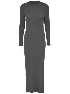 Jacqueline de Yong Jurk JDYRIBBY L/S DRESS JRS 15117769 Dark Grey Melange