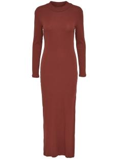Jacqueline de Yong Jurk JDYRIBBY L/S DRESS JRS 15117769 Henna