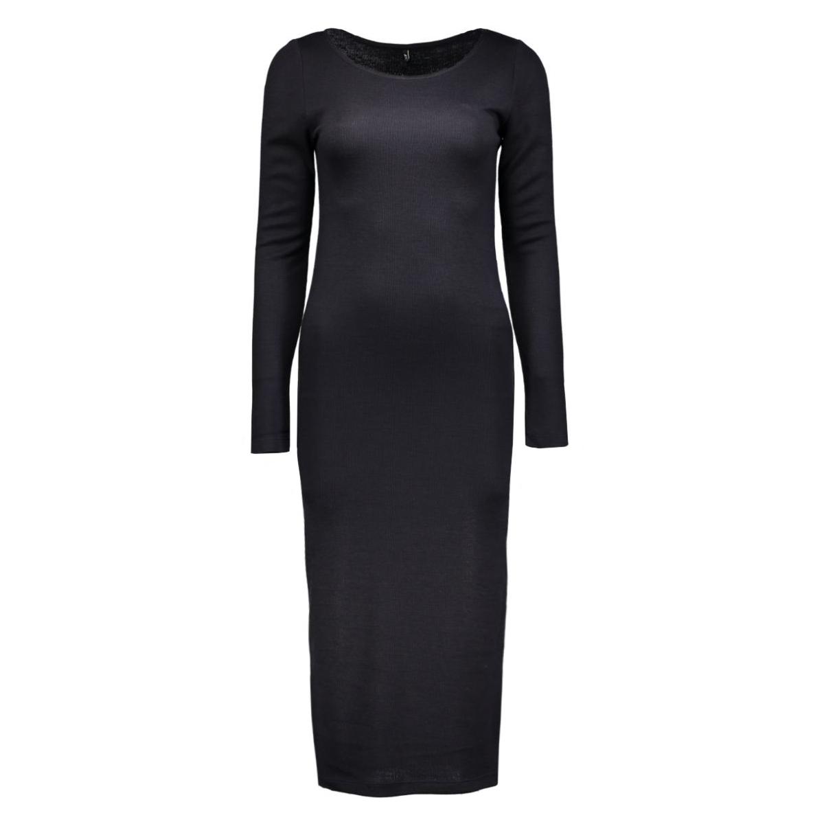 onlnew brooks l/s calf dress ess 15125079 only jurk night sky