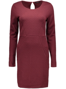 Vila Jurk VIRIKKA L/S DRESS 14036931 Tawny Port