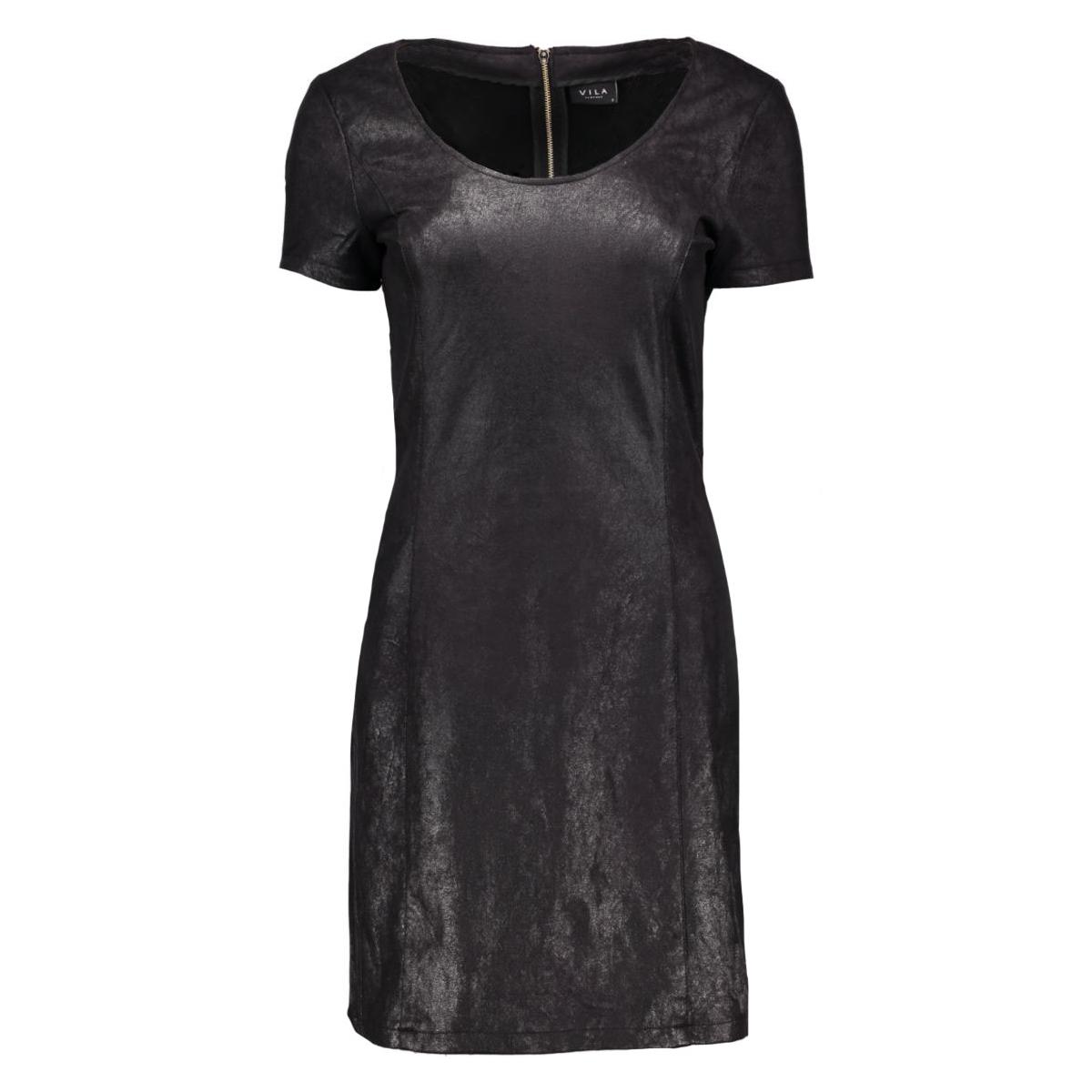 vizeg dress gv 14037420 vila jurk black