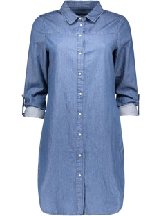 Vero Moda Blouse VMKARDASH LS DENIM DRESS NOOS 10161824 Medium Blue Denim