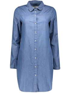 vmkardash ls denim dress noos 10161824 vero moda blouse medium blue denim
