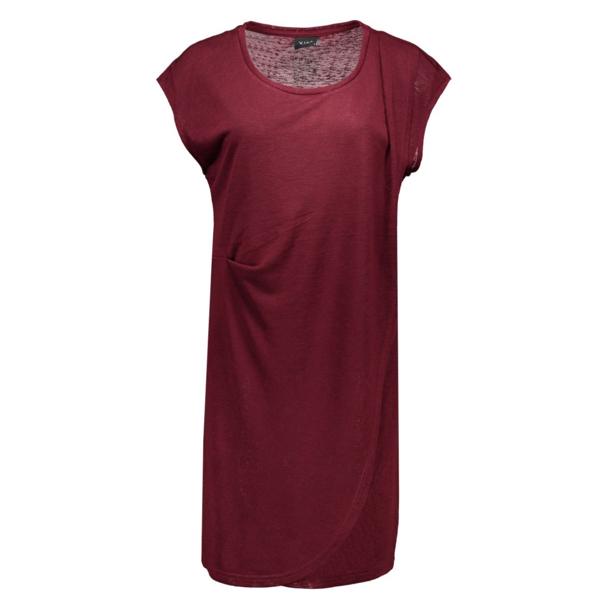 visumina s/s dress gv 14036903 vila jurk tawny port