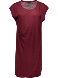 visumina s/s dress gv 14036903 vila jurk tawny port
