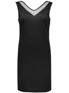 VITINNY DEEP V-BACK S/L DRESS 14038402 black