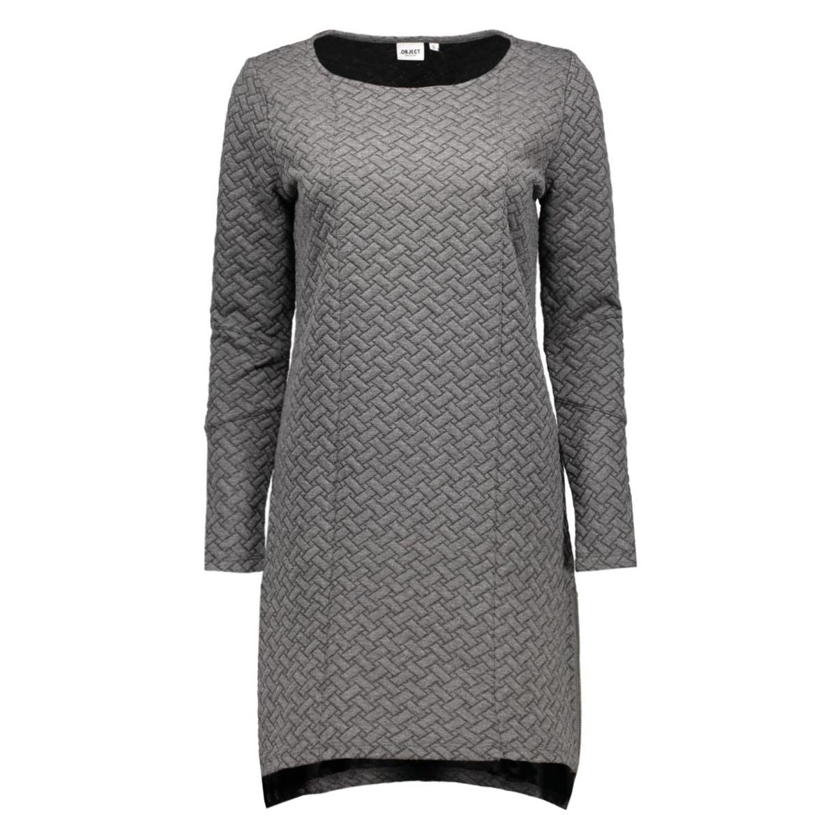 objcamden l/s sweat dress noos 23022852 object jurk mgm