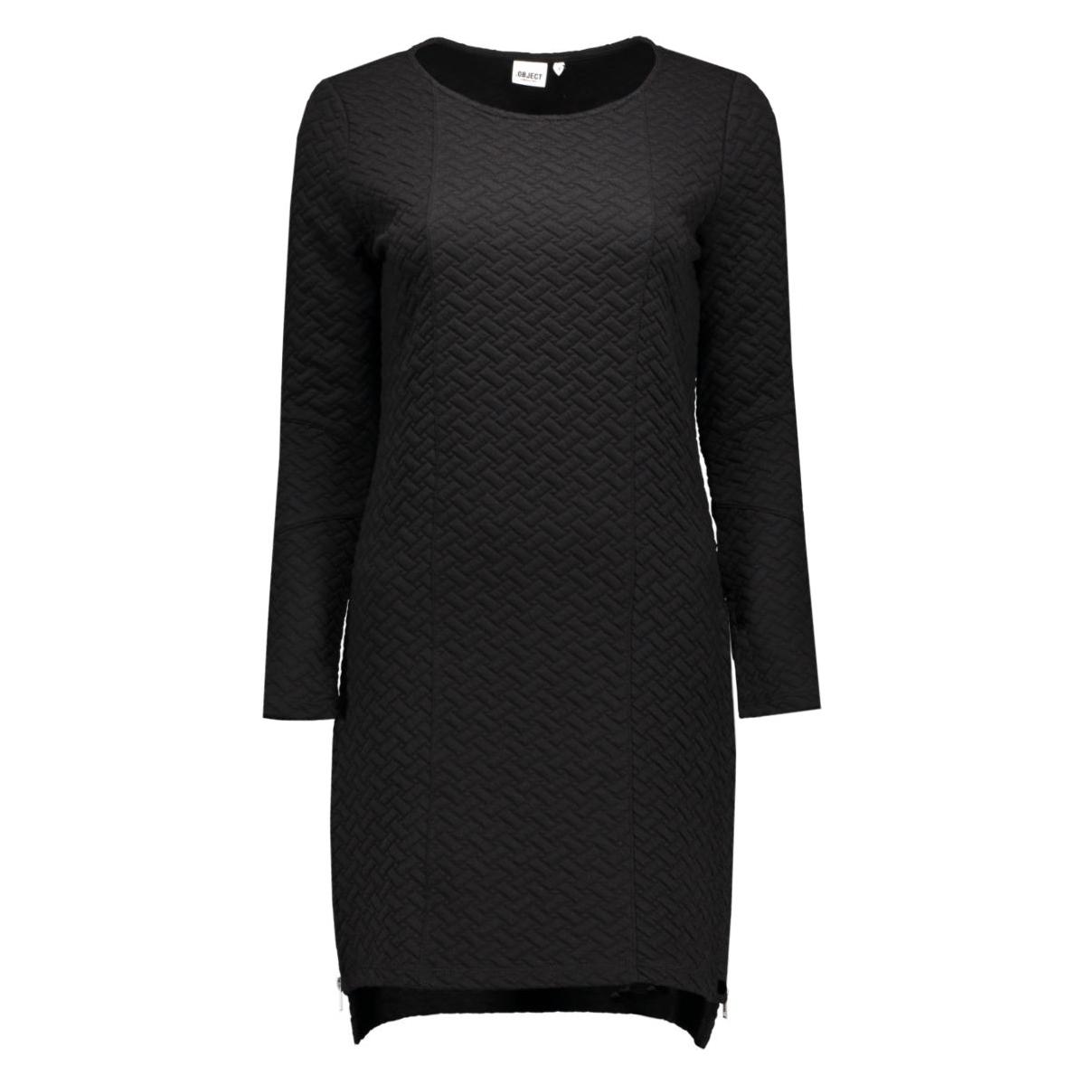 objcamden l/s sweat dress noos 23022852 object jurk black