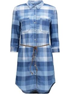 onlHENNA CHECK DMM DRESS BJ 15123182 Medium Blue Denim