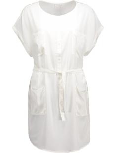 Jacqueline de Yong Jurk JDYJANE S/S SHIRT DRESS  WVN 15117780 Cloud Dancer