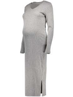 Mama-Licious Positie jurk MLMELOW 3/4 KNIT DRESS 20006264 Medium Grey Melange