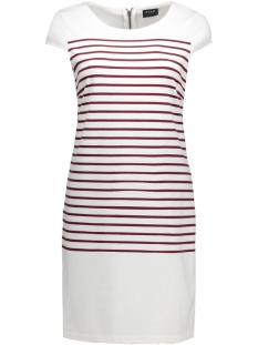 VITINNY CAP SLEEVE DRESS 14036939 Snow white/Tawney Por