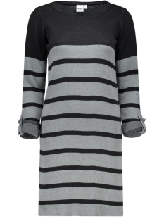 OBJMY L/S DRESS NOOS 23022846 Noos-Black Stripes