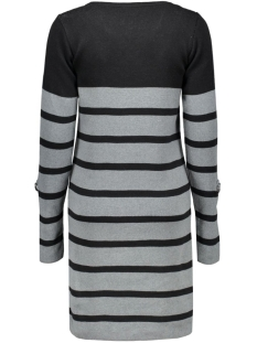 objmy l/s dress noos 23022846 object jurk noos-black stripes