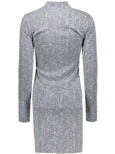 vinalas turtleneck dress 14036667 vila jurk ebony/melange