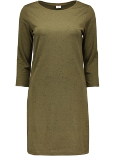Jacqueline de Yong Jurken JDYAFFAIR 3/4 DRESS 15117169 dark olive