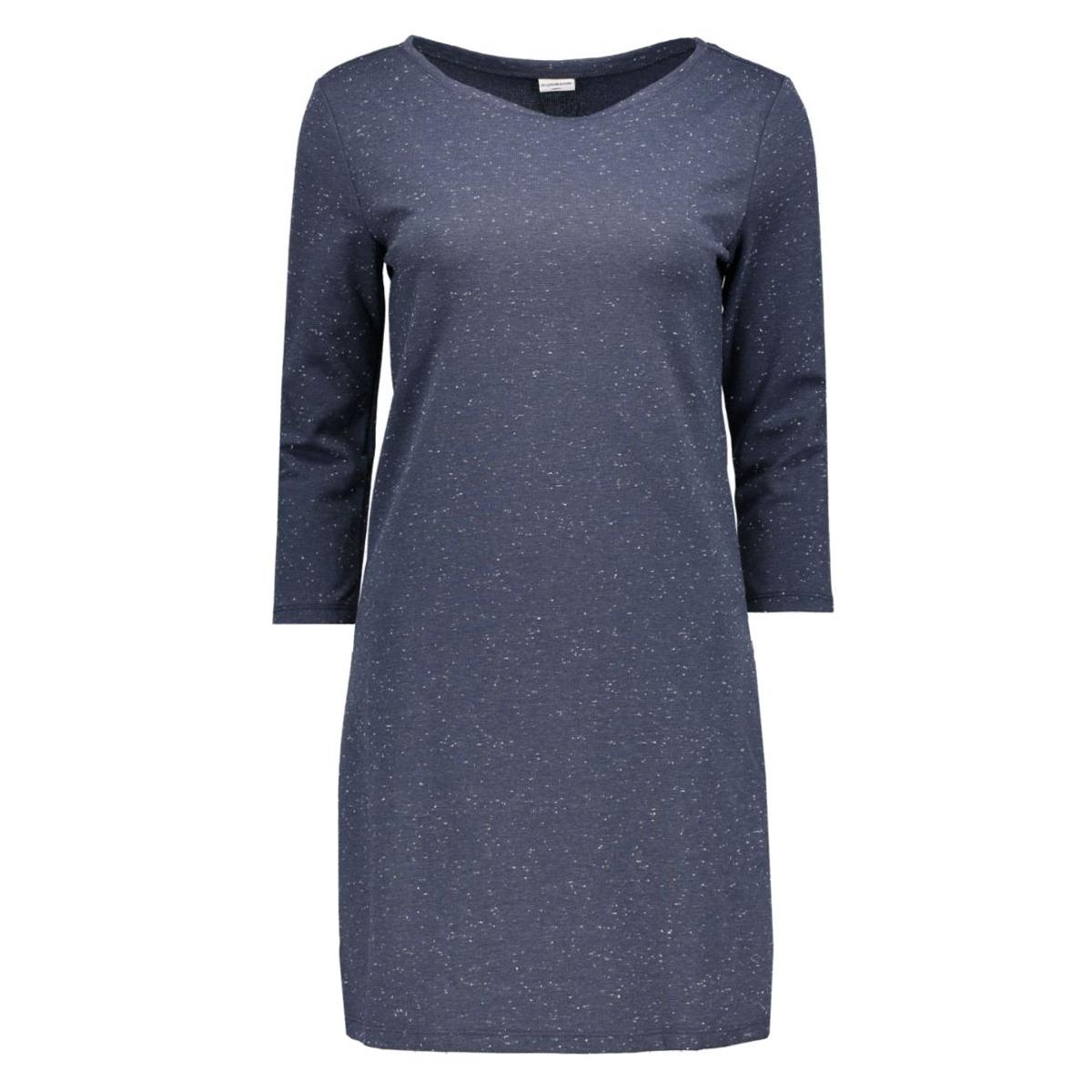 jdyaffair 3/4 dress 15117169 jacqueline de yong jurk mood indigo