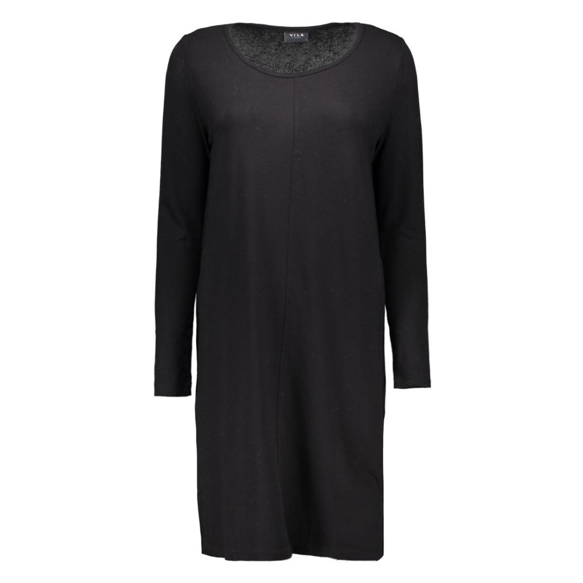 vinimas l/s dress-noos 14036230 vila jurk black