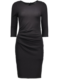Vila Jurk VINIMAS DETAIL DRESS-NOOS 14036428 Black