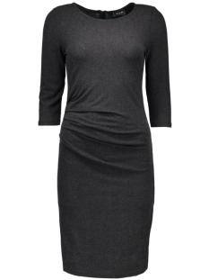Vila Jurk VINIMAS DETAIL DRESS-NOOS 14036428 Black/Melange